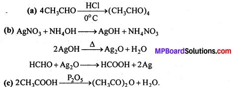 MP Board Class 12th Chemistry Solutions Chapter 12 ऐल्डिहाइड्स, कीटोन्स तथा कार्बोक्सिलिक अम्ल - 78
