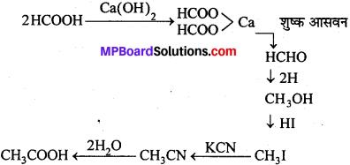 MP Board Class 12th Chemistry Solutions Chapter 12 ऐल्डिहाइड्स, कीटोन्स तथा कार्बोक्सिलिक अम्ल - 93