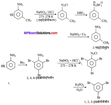 MP Board Class 12th Chemistry Solutions Chapter 13 ऐमीन - 10