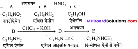 MP Board Class 12th Chemistry Solutions Chapter 13 ऐमीन - 113