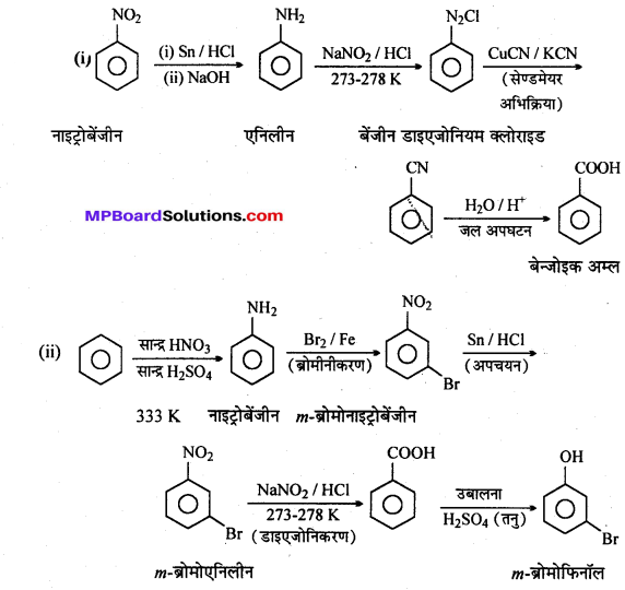 MP Board Class 12th Chemistry Solutions Chapter 13 ऐमीन - 32