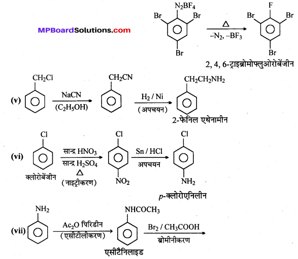 MP Board Class 12th Chemistry Solutions Chapter 13 ऐमीन - 34