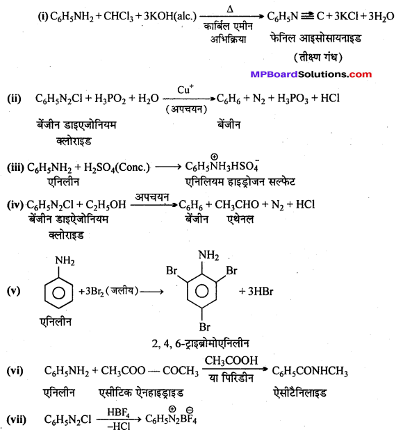 MP Board Class 12th Chemistry Solutions Chapter 13 ऐमीन - 53