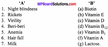 MP Board Class 12th Chemistry Solutions Chapter 14 Biomolecules - 34