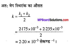 MP Board Class 12th Chemistry Solutions Chapter 4 रासायनिक बलगतिकी - 20
