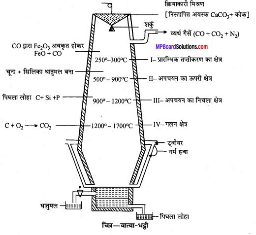 MP Board Class 12th Chemistry Solutions Chapter 6 तत्त्वों के निष्कर्षण के सिद्धान्त एवं प्रक्रम - 10