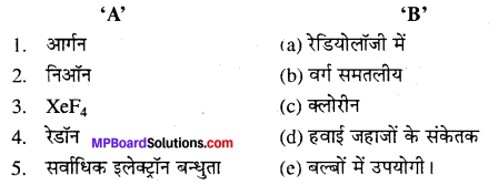 MP Board Class 12th Chemistry Solutions Chapter 7 p-ब्लॉक के तत्त्व - 33