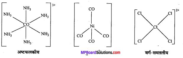 MP Board Class 12th Chemistry Solutions Chapter 9 उपसहसंयोजन यौगिक - 13