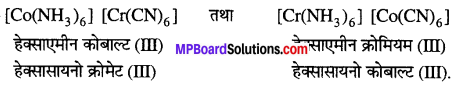 MP Board Class 12th Chemistry Solutions Chapter 9 उपसहसंयोजन यौगिक - 15