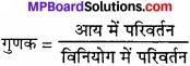 MP Board Class 12th Economics Important Questions Unit 7 आय एवं रोजगार का निर्धारण img 2