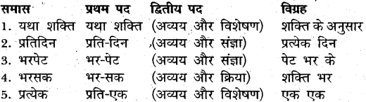MP Board Class 12th General Hindi व्याकरण समास-विग्रह img-2