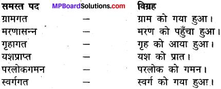 MP Board Class 12th General Hindi व्याकरण समास-विग्रह img-7