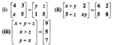 MP Board Class 12th Maths Book Solutions Chapter 3 आव्यूह Ex 3.1 img 6