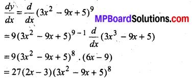 MP Board Class 12th Maths Book Solutions Chapter 5 सांतत्य तथा अवकलनीयता विविध प्रश्नावली img 1