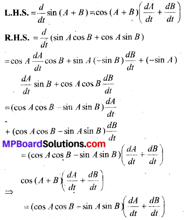 MP Board Class 12th Maths Book Solutions Chapter 5 सांतत्य तथा अवकलनीयता विविध प्रश्नावली img 27