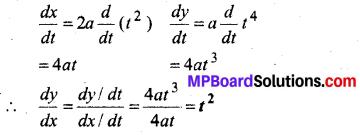 MP Board Class 12th Maths Book Solutions Chapter 5 सांतत्य तथा अवकलनीयता Ex 5.6 img 1