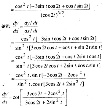 MP Board Class 12th Maths Book Solutions Chapter 5 सांतत्य तथा अवकलनीयता Ex 5.6 img 9