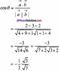 MP Board Class 12th Maths Important Questions Chapter 10 सदिश बीजगणित img 18