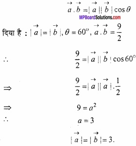 MP Board Class 12th Maths Important Questions Chapter 10 सदिश बीजगणित img 22