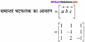 MP Board Class 12th Maths Important Questions Chapter 10 सदिश बीजगणित img 39
