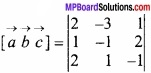MP Board Class 12th Maths Important Questions Chapter 10 सदिश बीजगणित img 40