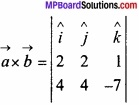 MP Board Class 12th Maths Important Questions Chapter 10 सदिश बीजगणित img 50