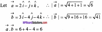 MP Board Class 12th Maths Important Questions Chapter 10 Vector Algebra img 13