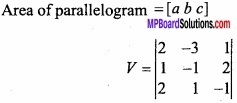 MP Board Class 12th Maths Important Questions Chapter 10 Vector Algebra img 21a