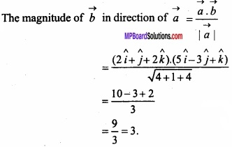 MP Board Class 12th Maths Important Questions Chapter 10 Vector Algebra img 29