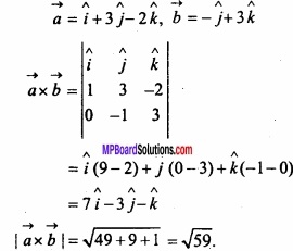 MP Board Class 12th Maths Important Questions Chapter 10 Vector Algebra img 30