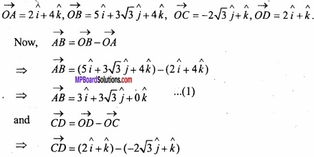 MP Board Class 12th Maths Important Questions Chapter 10 Vector Algebra img 32
