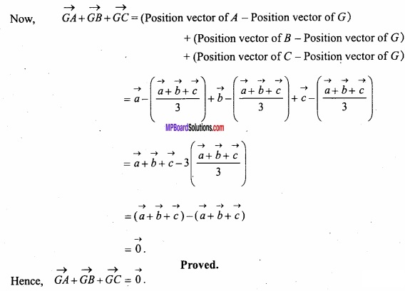 MP Board Class 12th Maths Important Questions Chapter 10 Vector Algebra img 33