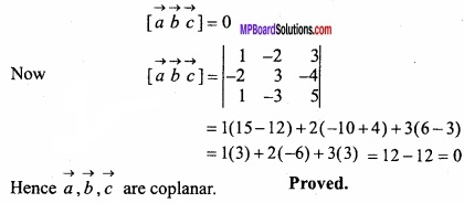 MP Board Class 12th Maths Important Questions Chapter 10 Vector Algebra img 44