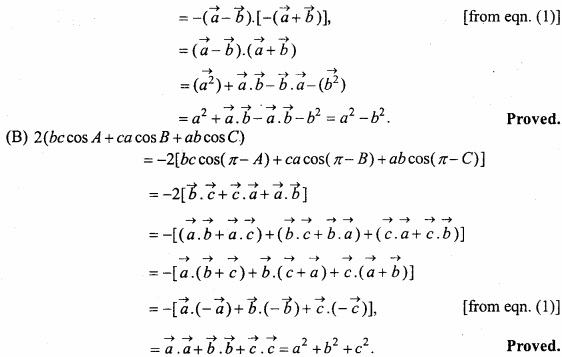 MP Board Class 12th Maths Important Questions Chapter 10 Vector Algebra img 49a