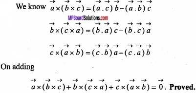 MP Board Class 12th Maths Important Questions Chapter 10 Vector Algebra img 61