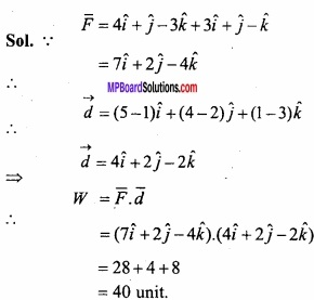 MP Board Class 12th Maths Important Questions Chapter 10 Vector Algebra img 63