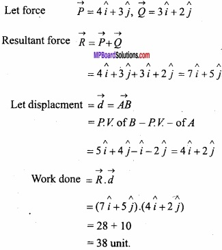 MP Board Class 12th Maths Important Questions Chapter 10 Vector Algebra img 64