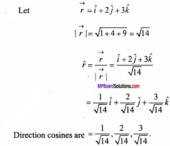 MP Board Class 12th Maths Important Questions Chapter 10 Vector Algebra img 7