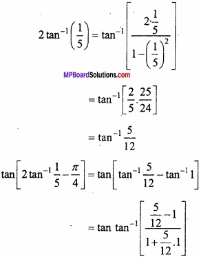 MP Board Class 12th Maths Important Questions Chapter 2 Inverse Trigonometric Functions img 3