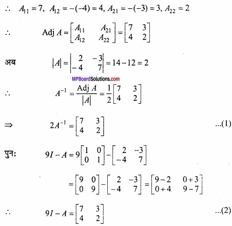 MP Board Class 12th Maths Important Questions Chapter 3 आव्यूह img 20