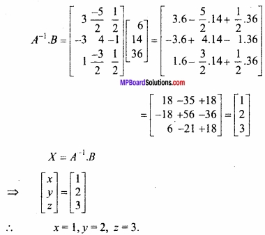 MP Board Class 12th Maths Important Questions Chapter 3 आव्यूह img 29a