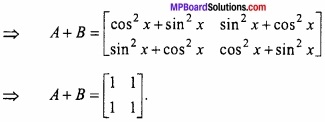 MP Board Class 12th Maths Important Questions Chapter 3 आव्यूह img 3