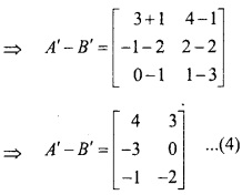 MP Board Class 12th Maths Important Questions Chapter 3 आव्यूह img 30c