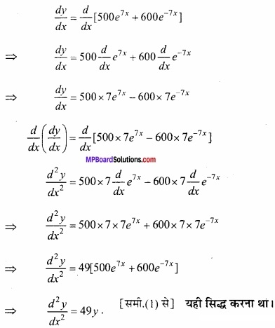 MP Board Class 12th Maths Important Questions Chapter 5B अवकलन img 42a