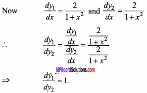 MP Board Class 12th Maths Important Questions Chapter 5B Differentiation img 15