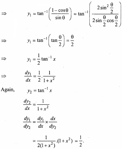MP Board Class 12th Maths Important Questions Chapter 5B Differentiation img 16a