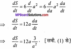 MP Board Class 12th Maths Important Questions Chapter 6 अवकलज के अनुप्रयोग img 5