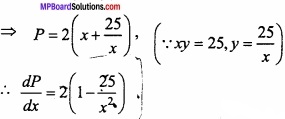 MP Board Class 12th Maths Important Questions Chapter 6 Application of Derivatives img 11