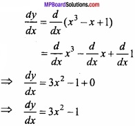 MP Board Class 12th Maths Important Questions Chapter 6 Application of Derivatives img 15