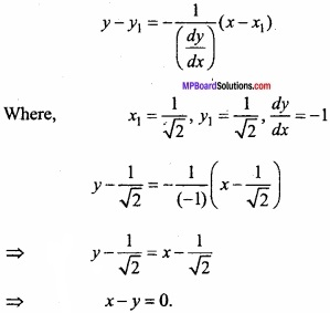 MP Board Class 12th Maths Important Questions Chapter 6 Application of Derivatives img 25